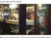 ENCORE vandalisé l'extrême-droite Lyon leur terrorisme durer jusqu'à quand