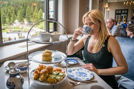 afternoon tea fairmont lake louise