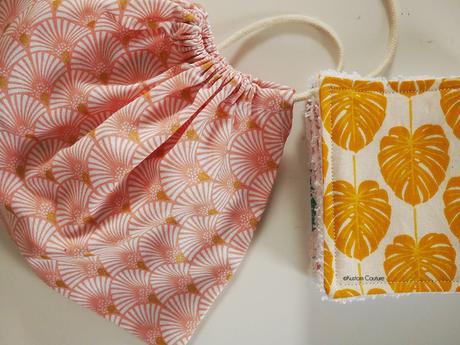 Coudre des lingettes démaquillantes lavables et un pochon en tissu   Kustom Couture