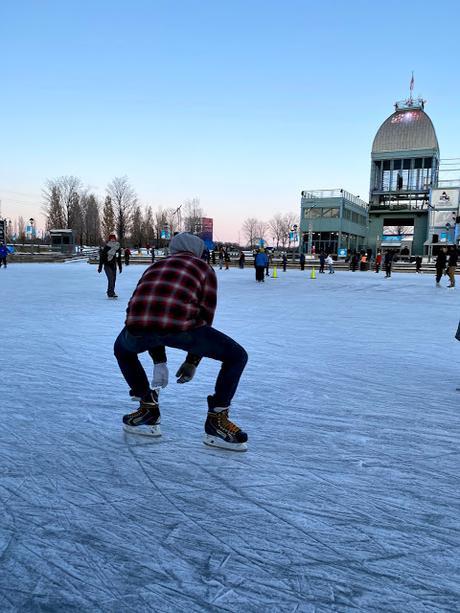 La plus belle patinoire à Montréal est ouverte !