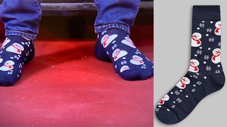 AFFAIRE CONCLUE : MARCHÉ DE NOËL : les chaussettes d'Harold