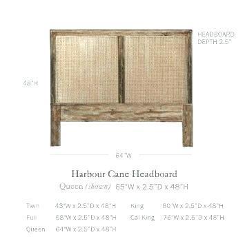 cane headboard king french cane headboard king