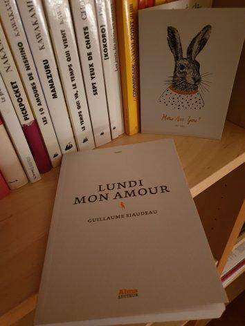 Guillaume Siaudeau – Lundi mon amour ***