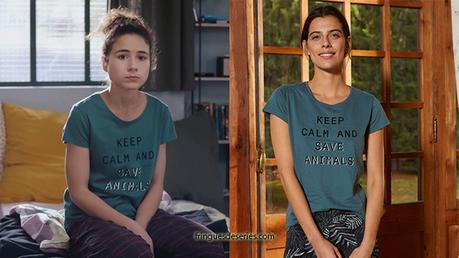 DEMAIN NOUS APPARTIENT : le t-shirt de Manon dans l'épisode 624