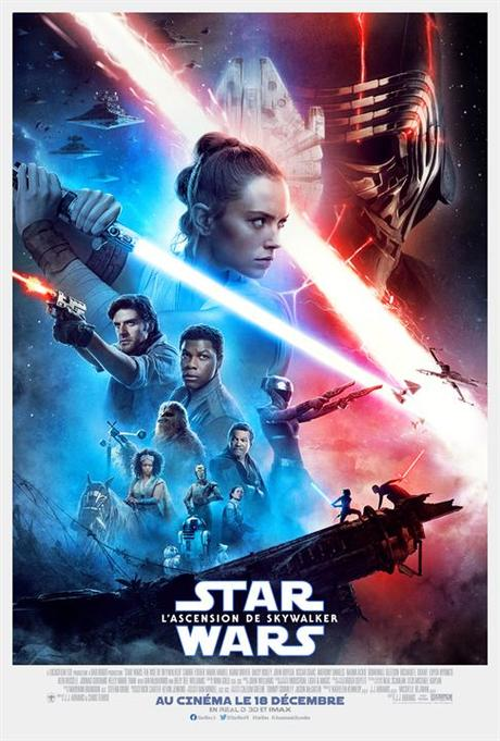 Star Wars: L'Ascension de Skywalker : Affiche