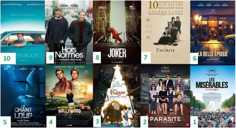 Bilan Cinéma 2019 : Nos Tops 10 des films sortis en 2019