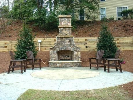diy outdoor fireplace plans diy outdoor brick fireplace plans