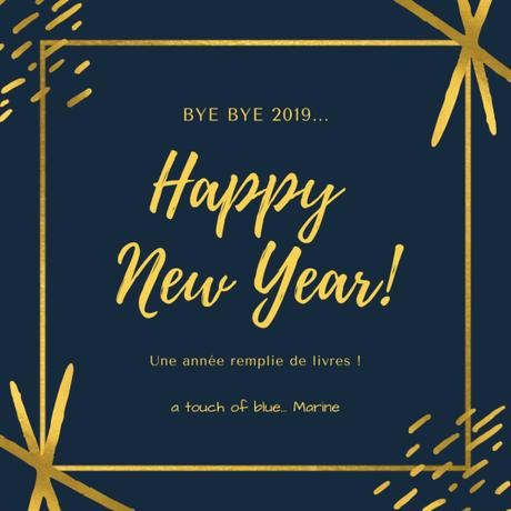 Bilan de l'année 2019 : décompte, statistiques et souvenirs livresques !