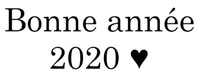 Bilan 2019 ♥