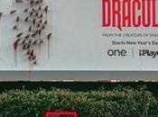 Pour promotion Dracula, crée panneaux évolutifs effrayants