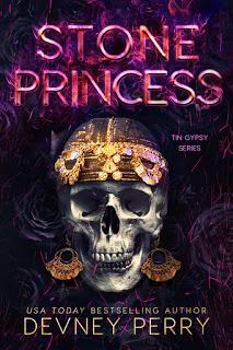 Cover Reveal VO : Découvrez la couverture et le résumé de Stone Princess, le 3ème tome de la saga Tin Gipsy de Devney Perry
