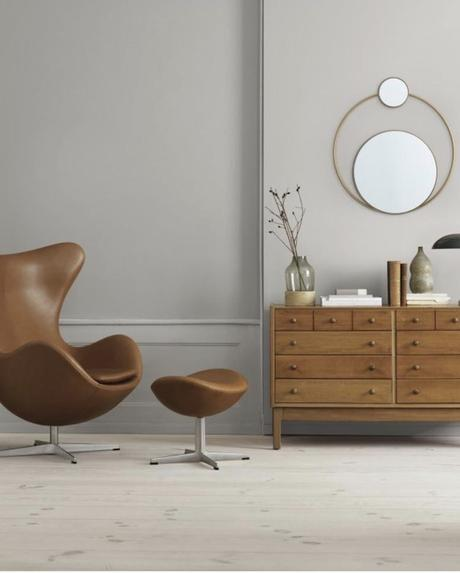 meubles tendance miroir rond or meuble bois fauteuil egg - blog déco - clemaroundthecorner