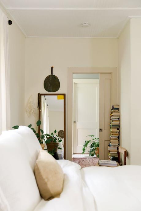 maison bohème livre miroir rectangle bois clemaroundthecorner