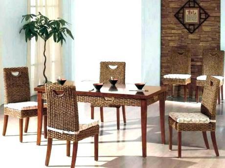 wicker dining room set white wicker dining room set