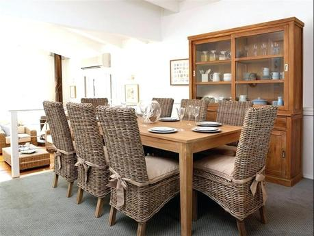 wicker dining room set wicker chair dining room set