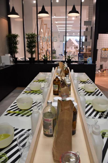 idée originale cadeau evjf maniaque anniversaire atelier cosmétique produit ménage mama wax Lille