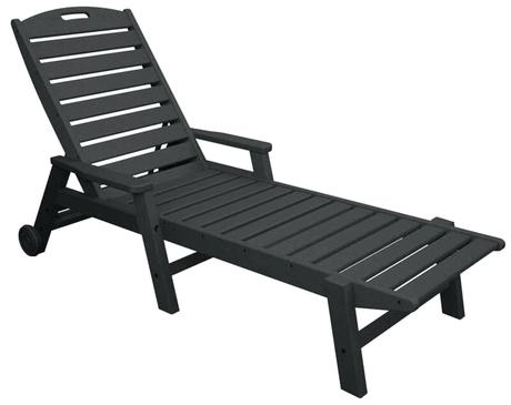 polywood chaise lounge polywood chaise lounge with wheels