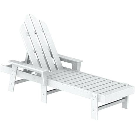 polywood chaise lounge polywood chaise lounge white