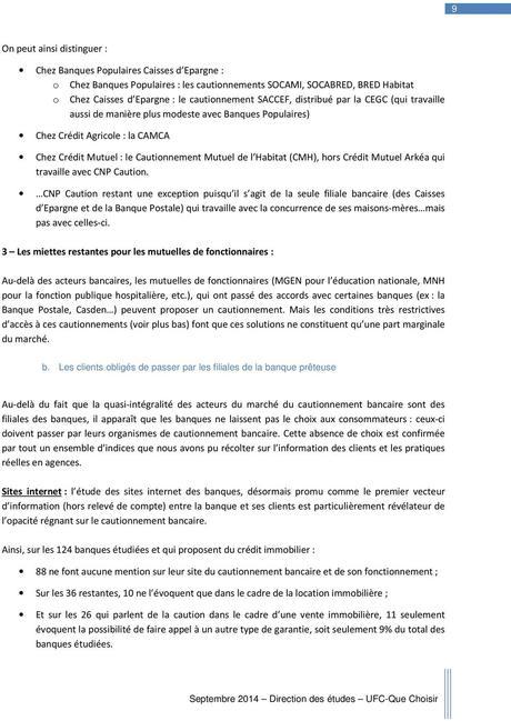 Main Levee Caution Bancaire Paperblog