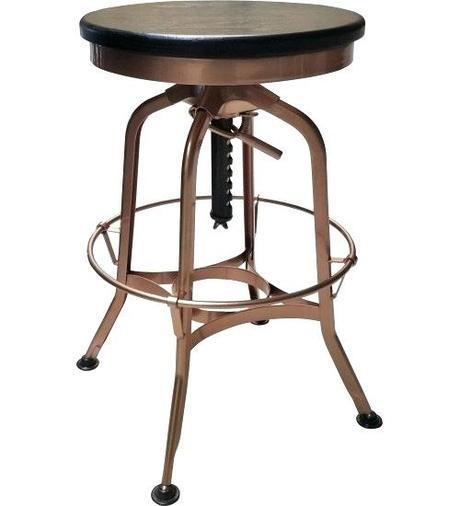 toledo bar stool vintage toledo leather bar chair