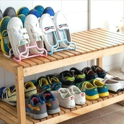 small shoe rack small wooden shoe rack bench