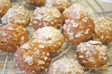 Chouquettes, recette du Chef Ch. Felder (Ma Petite Pâtisserie)