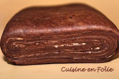Pâte feuilletée au chocolat