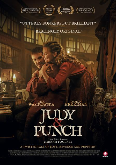 Affiche US pour Judy and Punch de Mirrah Foulkes