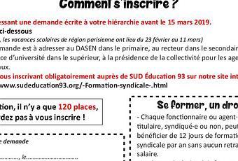 modèle gratuit convocation formation - Paperblog