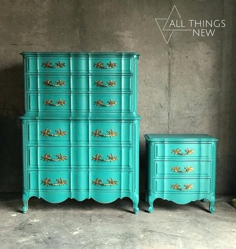 turquoise dresser turquoise dresser for sale