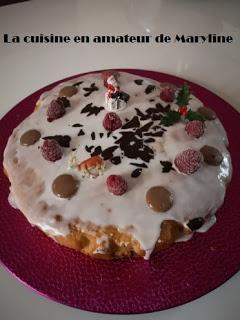 Gâteau aux noix et amandes