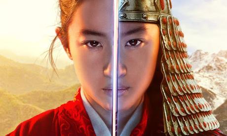 Affiche coréenne pour le live-action Mulan de Niki Caro