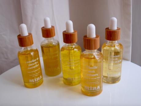 My Mira, des huiles-trésors pour ma peau sèche et sensible