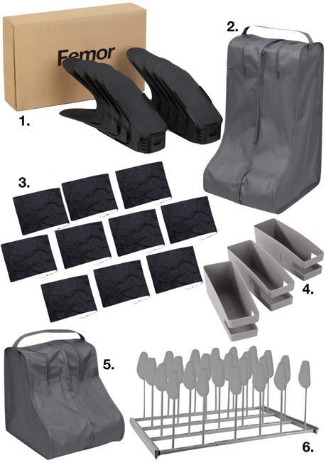 5 Astuces pour ranger les chaussures et où trouver ce dont vous aurez besoin