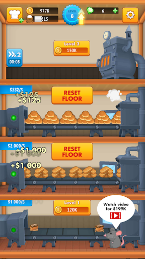 Code Triche The Bakery Factory APK MOD (Astuce) 1