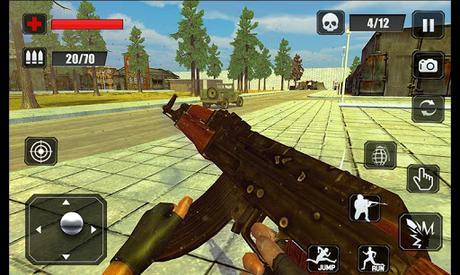 Code Triche Counter Terrorist Stealth Mission Battleground War APK MOD (Astuce) 3