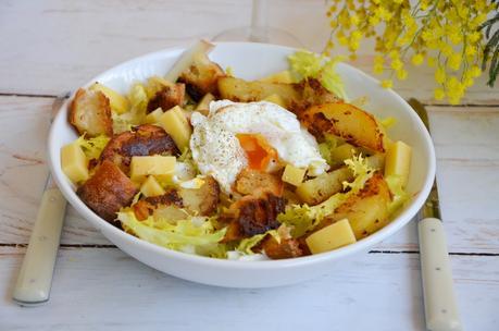 Salade lyonnaise veggie