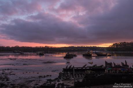 fin de nuit à #Lanester #Bretagne #Morbihan