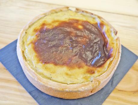 Flan pâtissier à la vanille, recette de Jean-Baptiste Lavergne-Morazzani, La Table du 11, Versailles