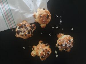 Cuisiner avec les enfants – Les tortues en pâte brioche