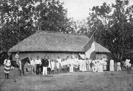 Chefferie epoque colonisation