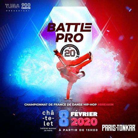 Battle pro à Paris
