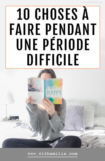 10 choses à faire quand on a une baisse de moral