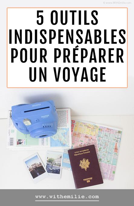 5 outils indispensables pour préparer un voyage