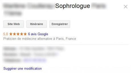 Sophrologue : choisir sa bonne catégorie d'activité Google My Business