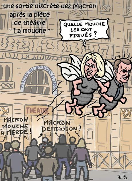 Macron va t'il prendre la mouche ?