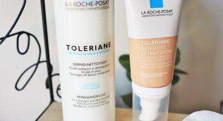 Que vaut la gamme TOLERIANE de la Roche Posay ?  Le teint crème & le fluide nettoyant, démaquillant