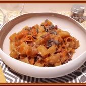 Poêlée de Butternut, carotte au cumin avec ou sans le cookéo - Oh, la gourmande..