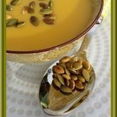Soupe de Potiron au Roquefort - Oh, la gourmande..