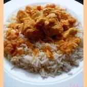 Curry de poulet - Oh, la gourmande..
